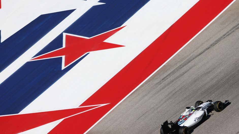 Felipe Massa, Williams, Circuit of the Americas, 2016