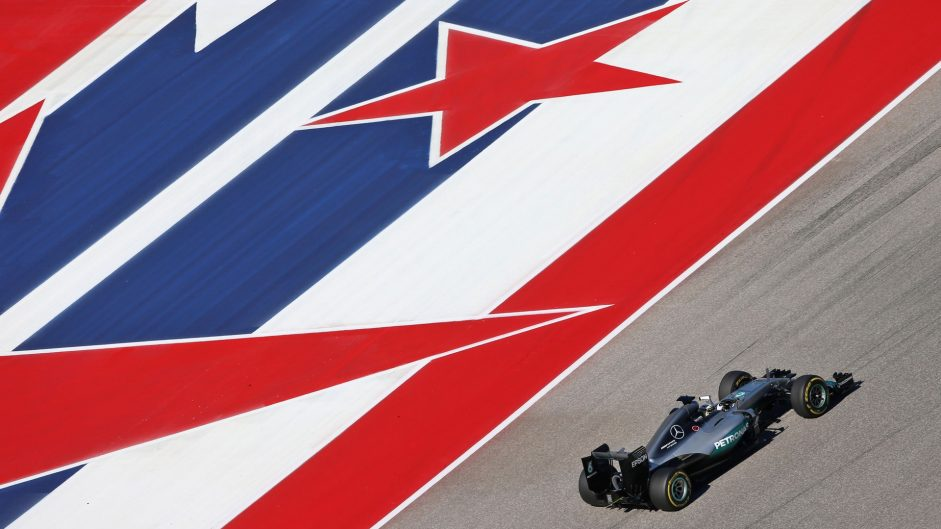 Lewis Hamilton, Mercedes, Circuit of the Americas, 2016