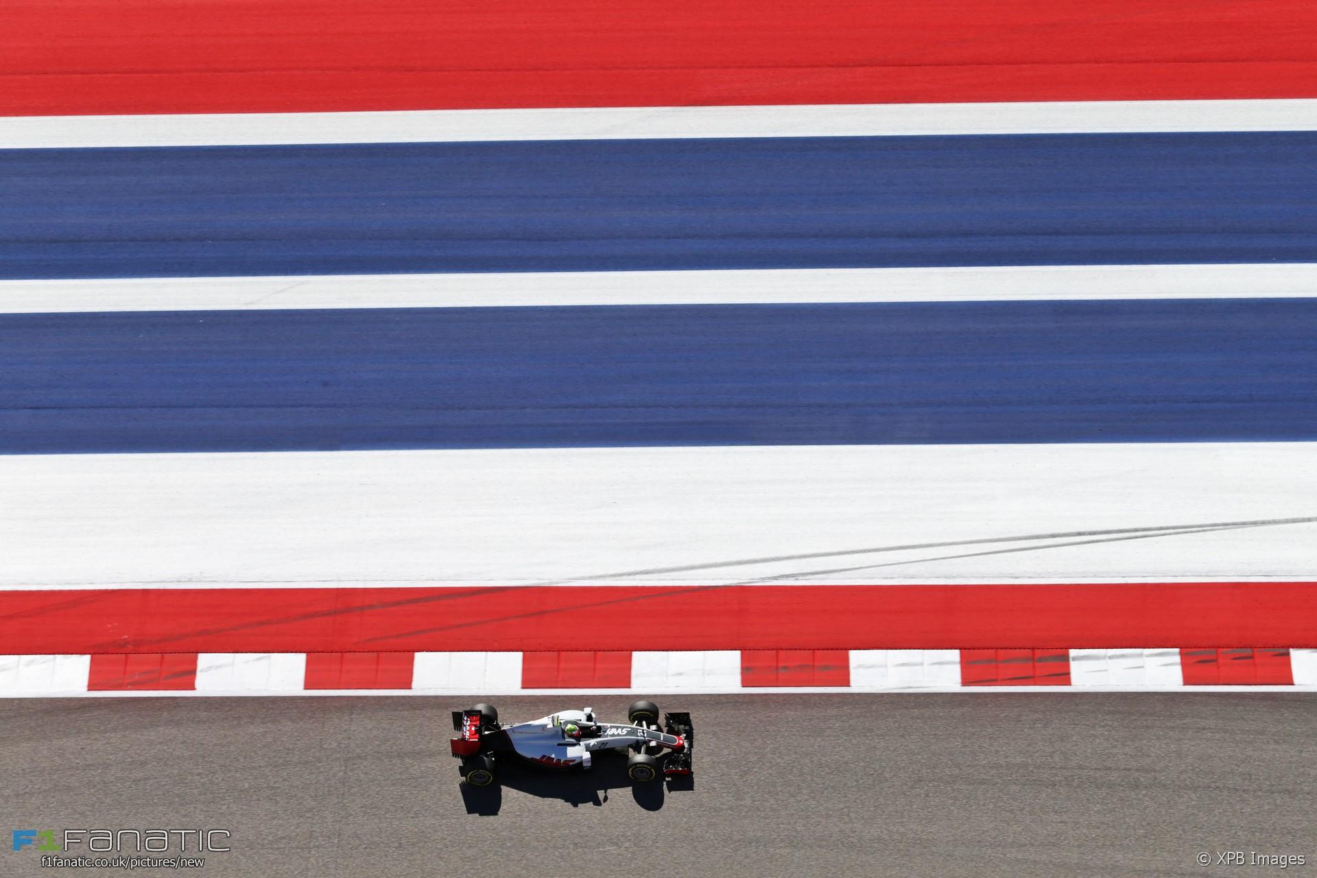 Esteban Gutierrez, Haas, Circuit of the Americas, 2016