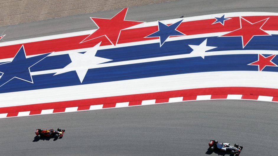 Romain Grosjean, Haas, Circuit of the Americas, 2016