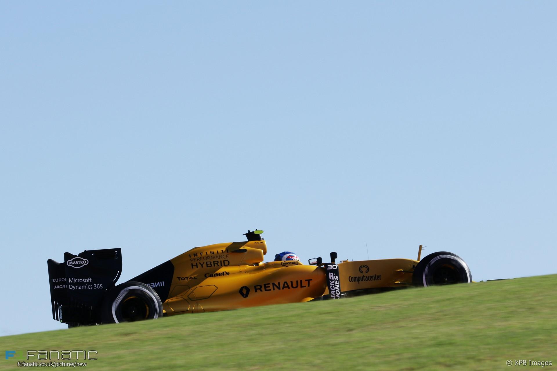 Jolyon Palmer, Renault, Circuit of the Americas, 2016