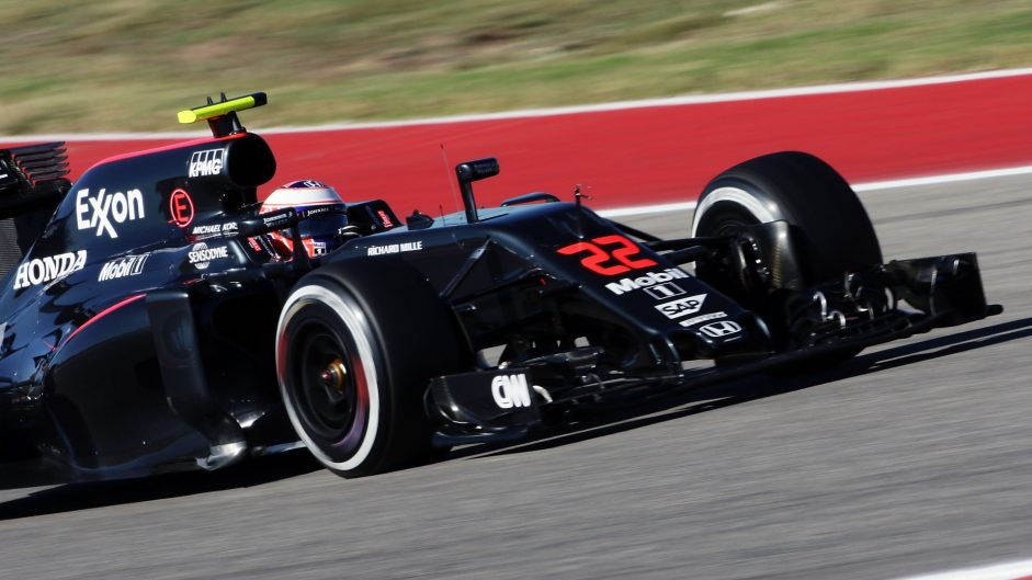 Jenson Button, McLaren, Circuit of the Americas, 2016