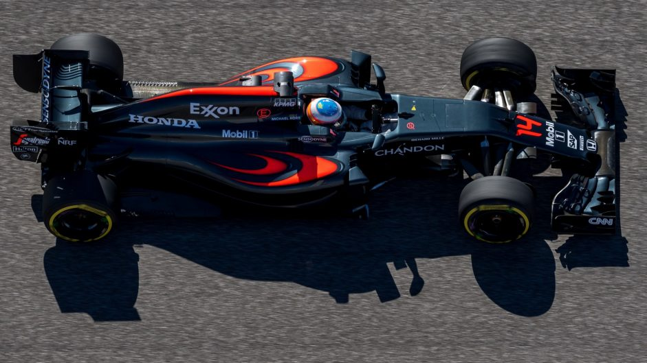 Fernando Alonso, McLaren, Circuit of the Americas, 2016