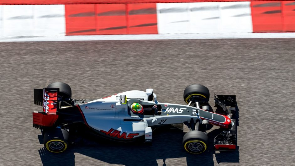 Esteban Gutierrez, Haas, Circuit of the Americas, 2016