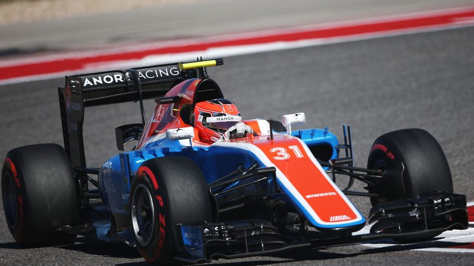 Esteban Ocon, Manor, Circuit of the Americas, 2016