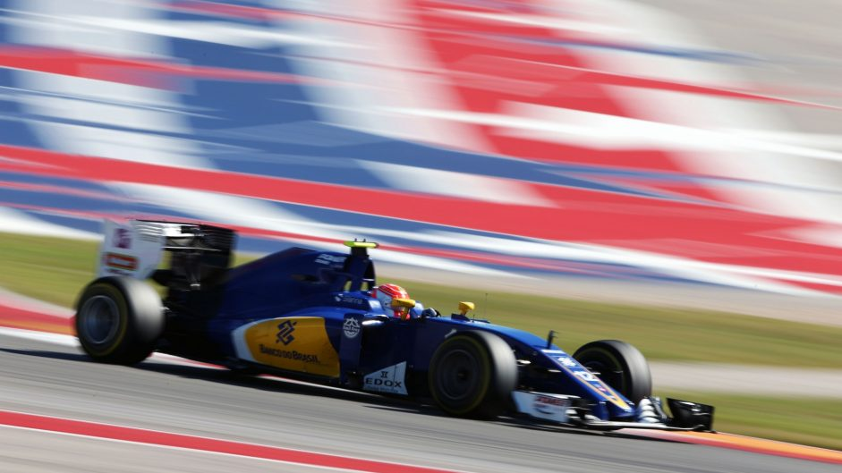 Felipe Nasr, Sauber, Circuit of the Americas, 2016