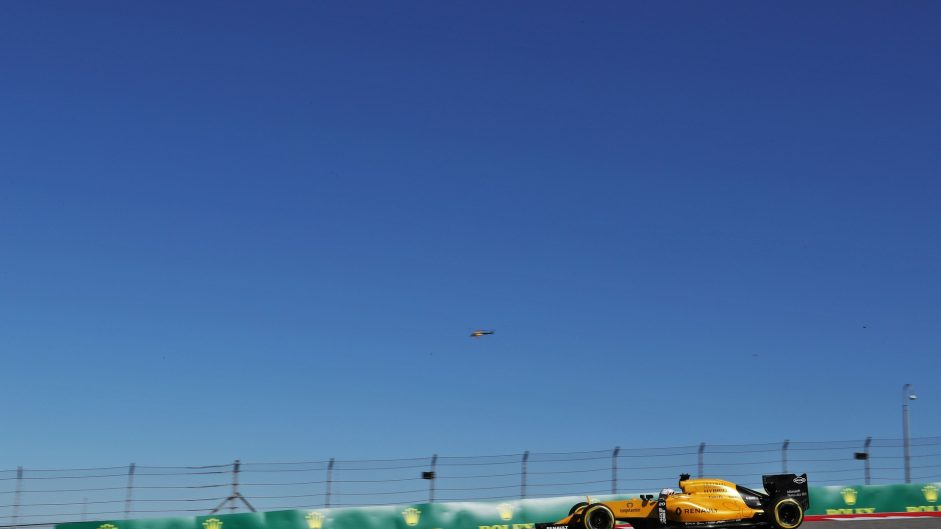 Kevin Magnussen, Renault, Circuit of the Americas, 2016