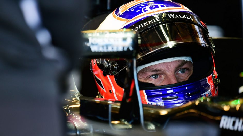Jenson Button, McLaren, Circuit of the Americas, 2016