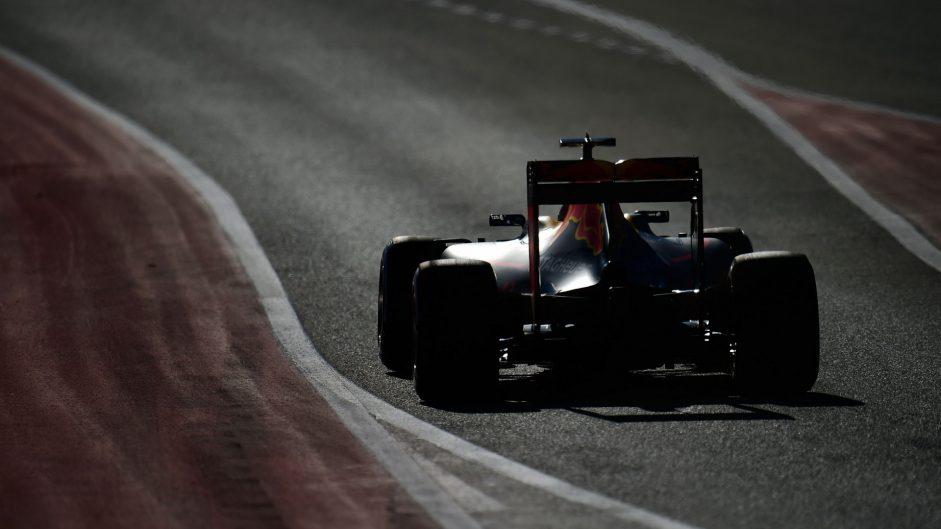 Daniel Ricciardo, Red Bull, Circuit of the Americas, 2016