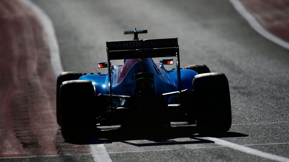 Pascal Wehrlein, Manor, Circuit of the Americas, 2016