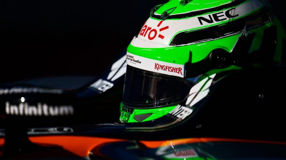 Nico Hulkenberg, Force India, Circuit of the Americas, 2016