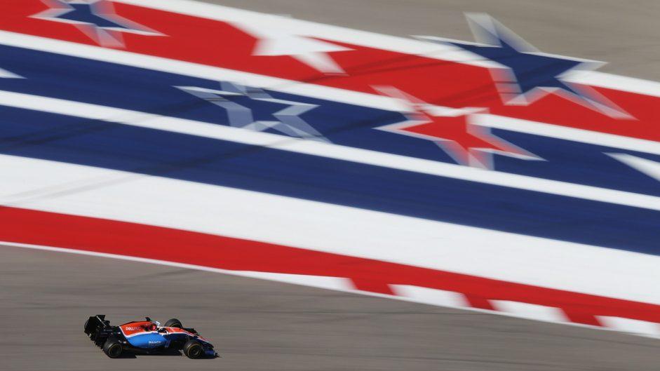 Esteban Ocon, Manor, Circuit of the Americas, 2016