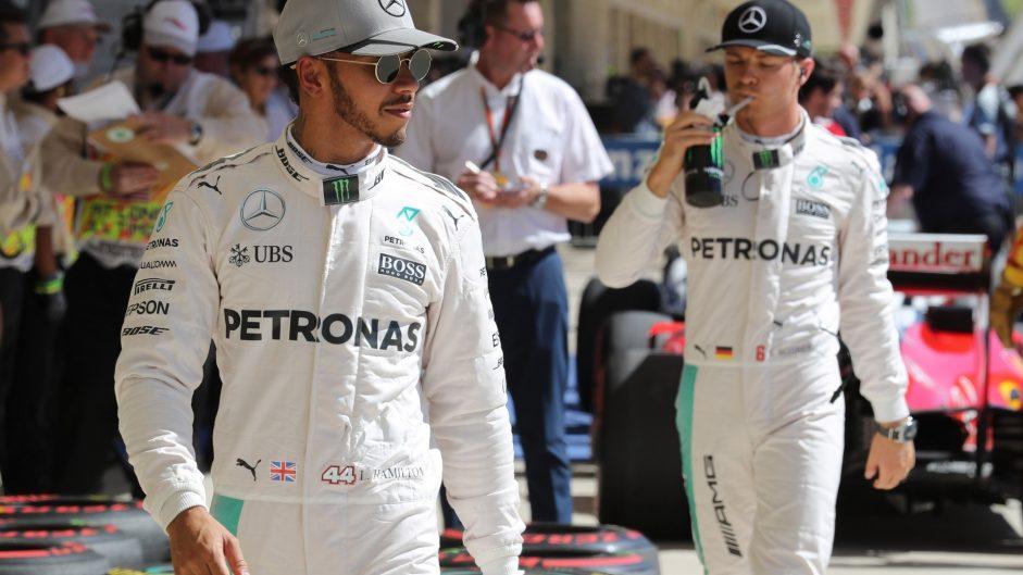 Lewis Hamilton, Nico Rosberg, Mercedes, Circuit of the Americas, 2016