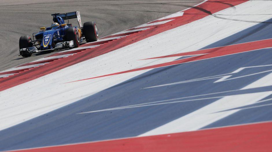 Marcus Ericsson, Sauber, Circuit of the Americas, 2016