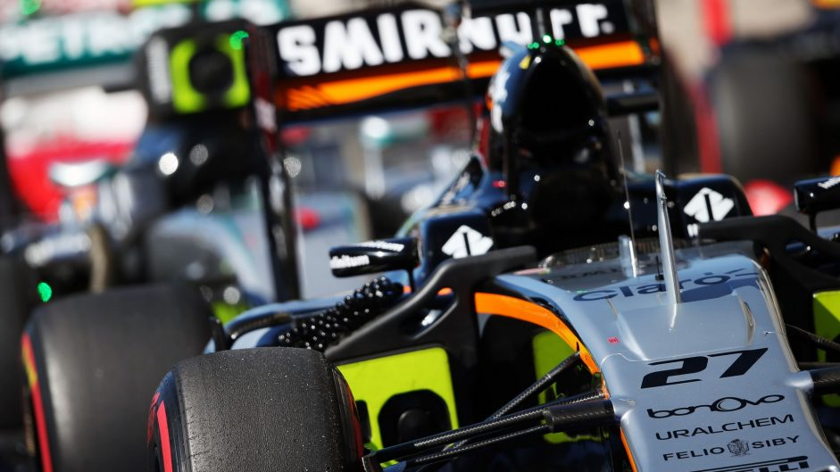 Force India, Circuit of the Americas, 2016