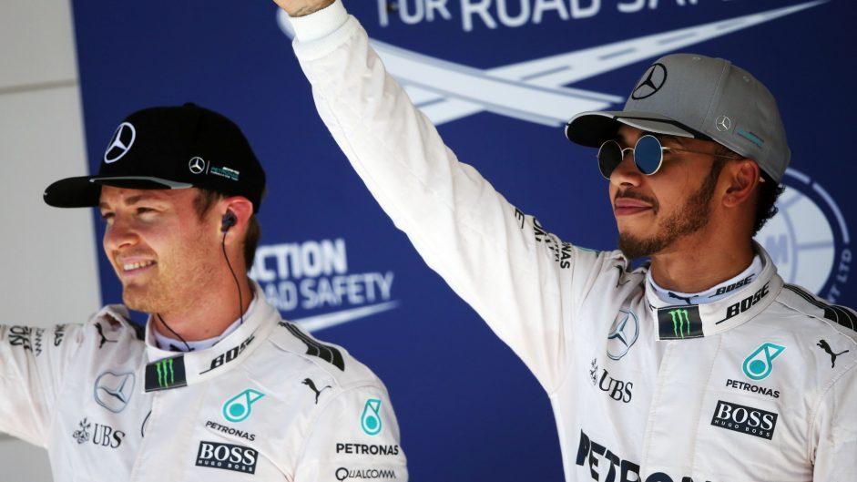 Nico Rosberg, Lewis Hamilton, Mercedes, Circuit of the Americas, 2016