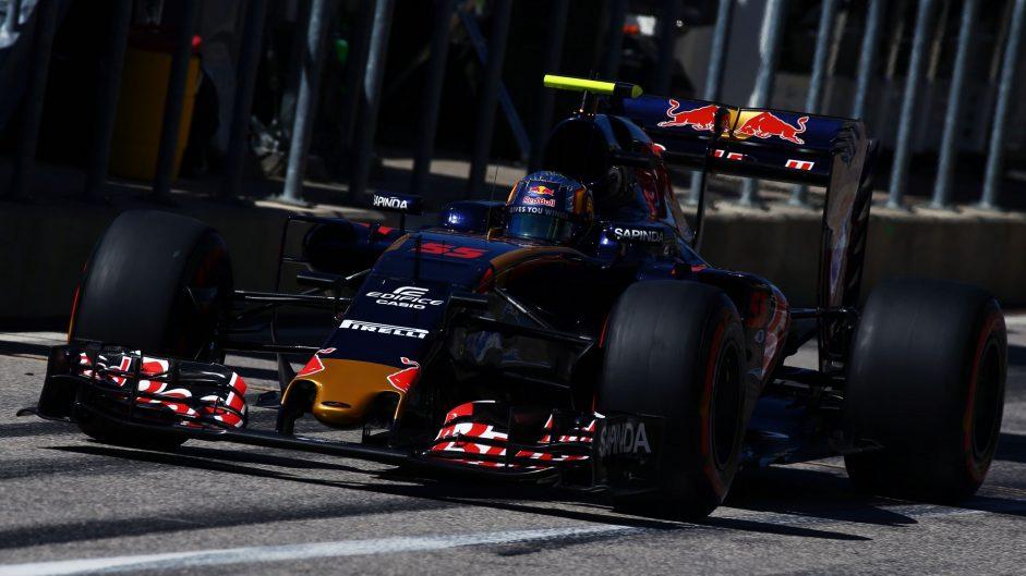 Carlos Sainz Jnr, Toro Rosso, Circuit of the Americas, 2016