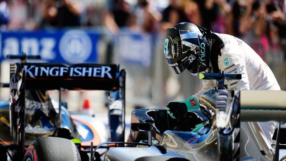 Nico Rosberg, Mercedes, Circuit of the Americas, 2016