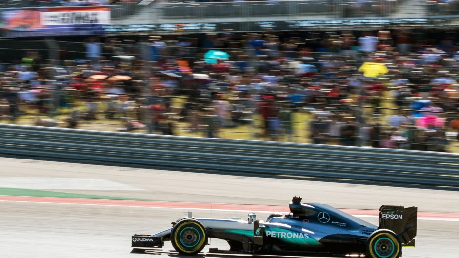 Lewis Hamilton, Mercedes, Circuit of the Americas, 2016