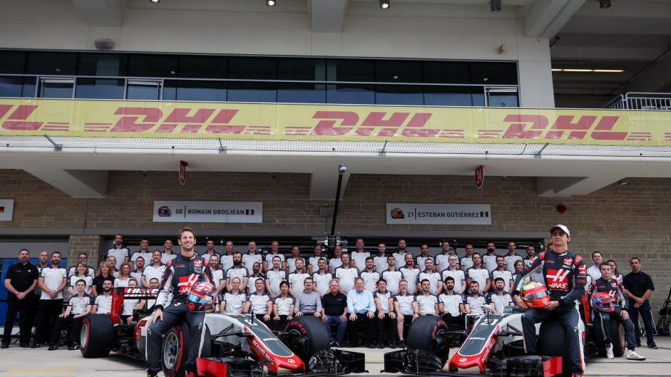 Romain Grosjean, Haas, Circuit of the Americas, 2016
