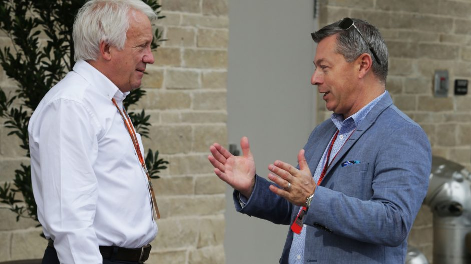 Charlie Whiting, Francois Dumontier, Circuit of the Americas, 2016