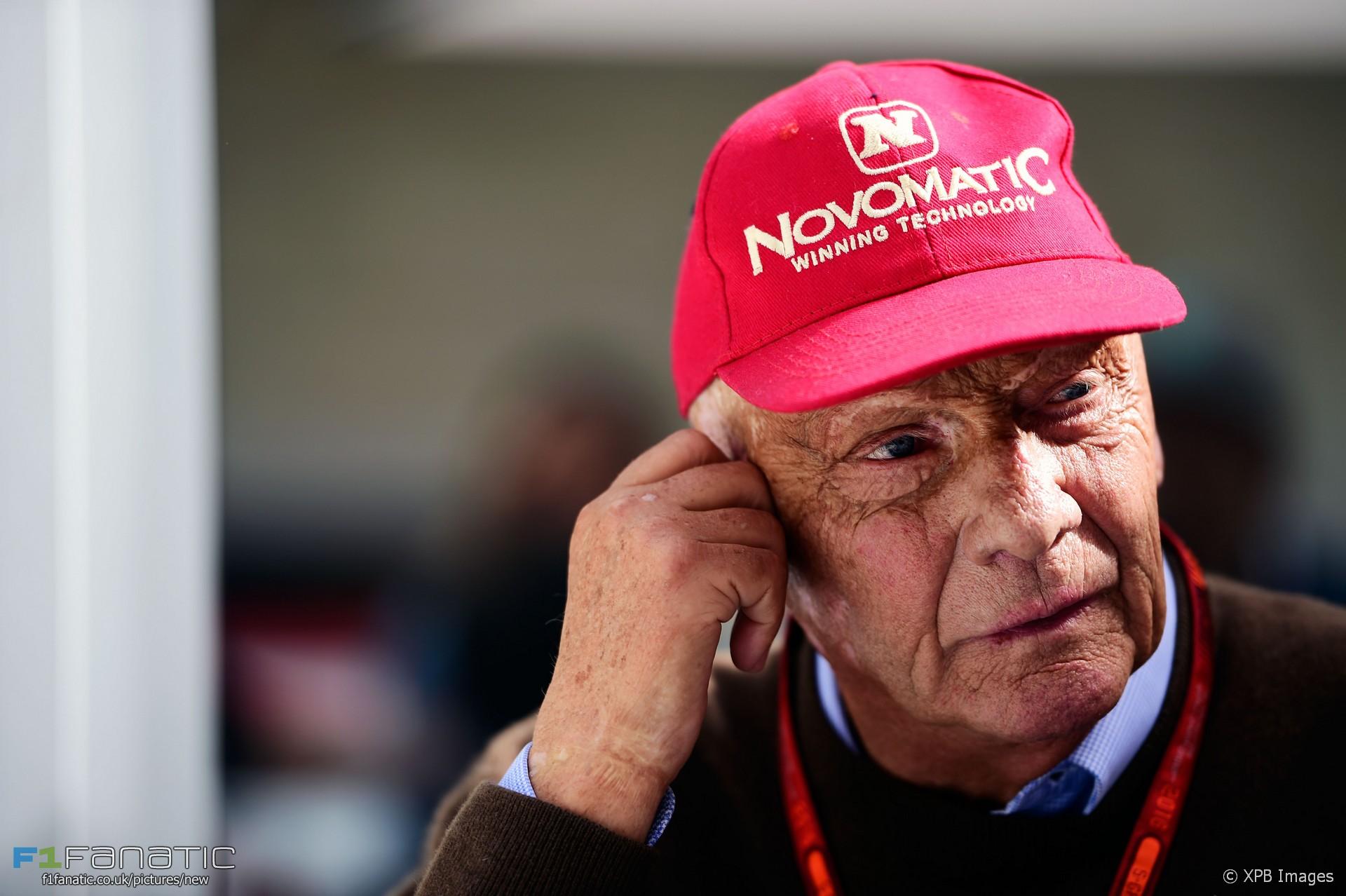 Niki Lauda, Circuit of the Americas, 2016