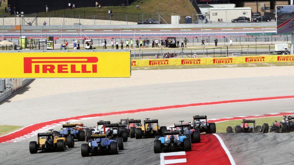 Start, Circuit of the Americas, 2016