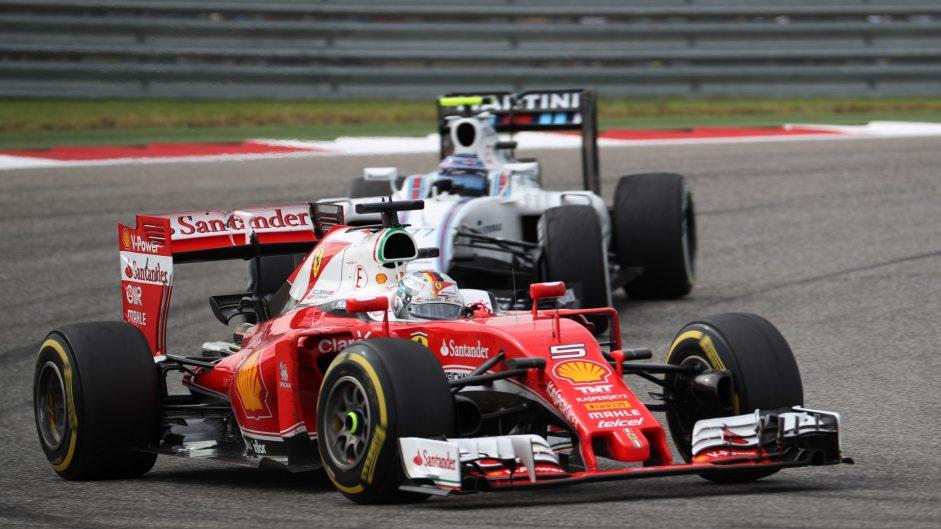 Sebastian Vettel, Ferrari, Circuit of the Americas, 2016