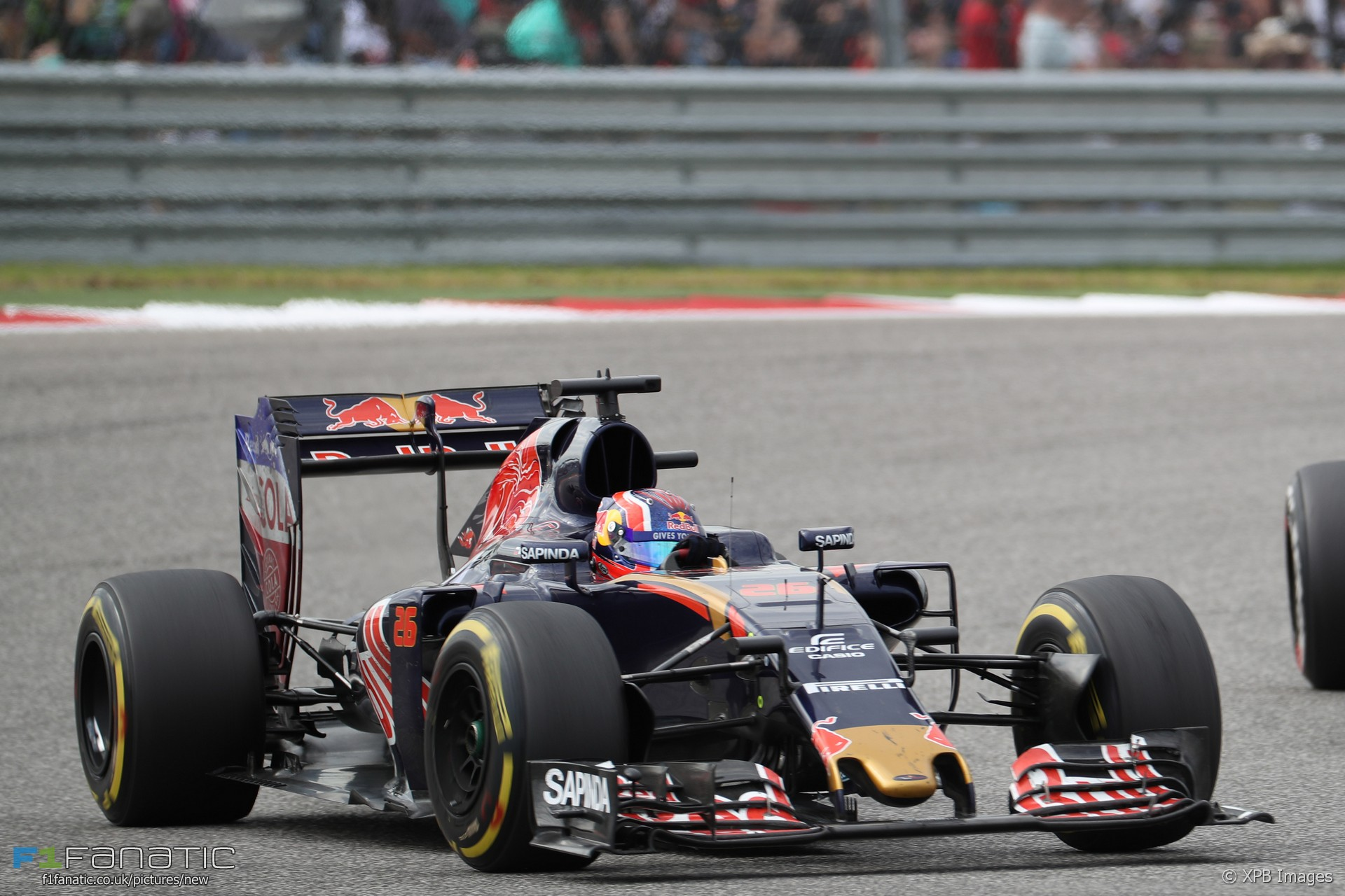 daniil kvyat toro rosso circuit of the americas 2016 f1 fanatic. Black Bedroom Furniture Sets. Home Design Ideas
