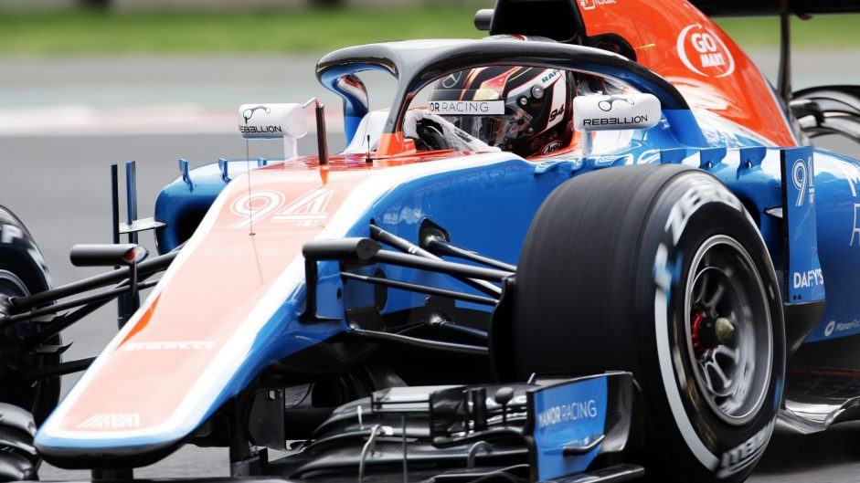 Pascal Wehrlein, Manor, Autodromo Hermanos Rodriguez, 2016