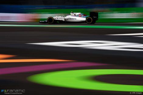 Valtteri Bottas, Williams, Autodromo Hermanos Rodriguez, 2016