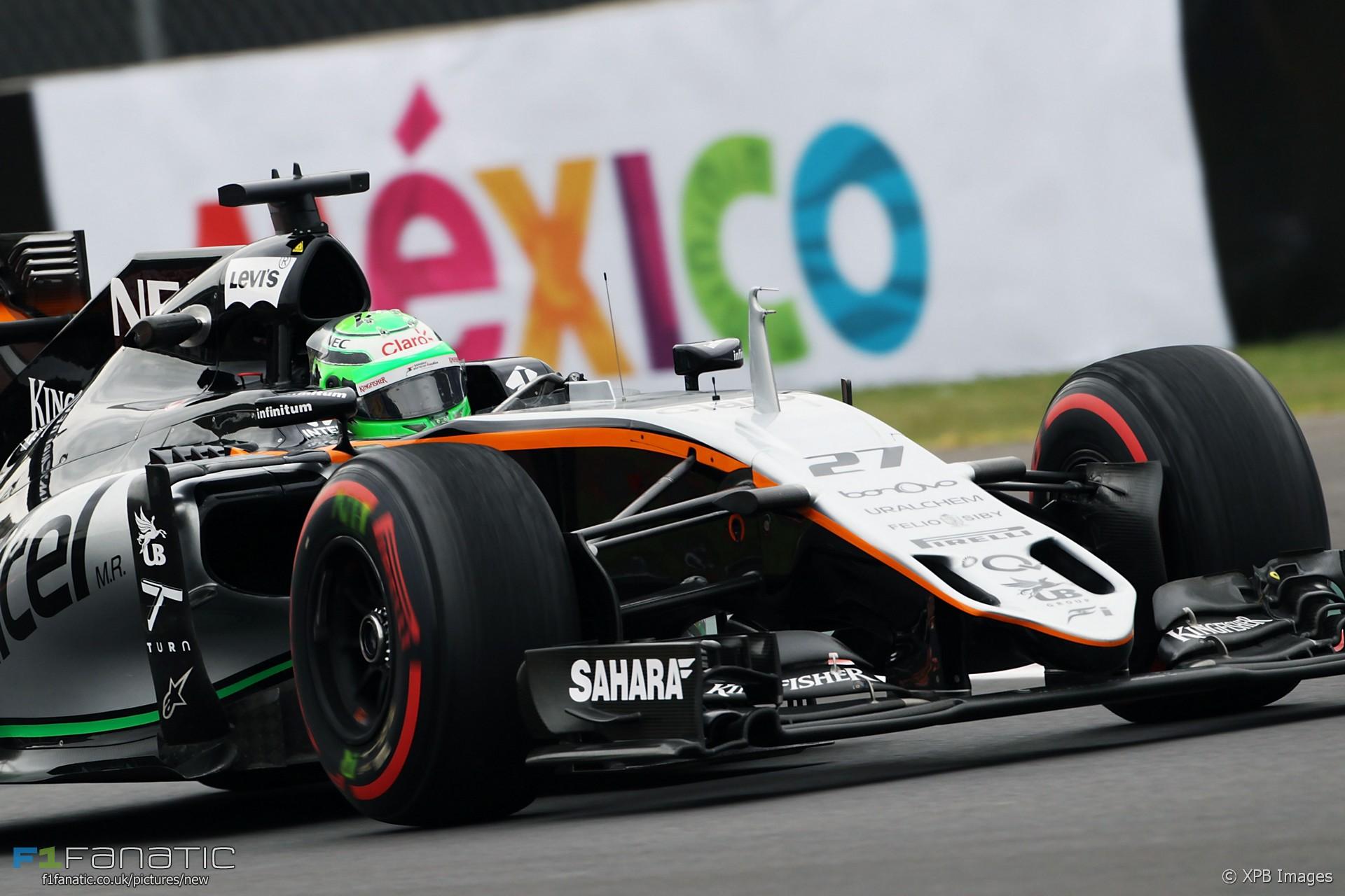 Nico Hulkenberg, Force India, Autodromo Hermanos Rodriguez, 2016