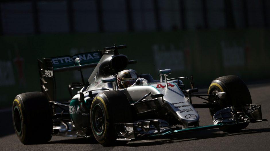 2016 Mexican Grand Prix grid