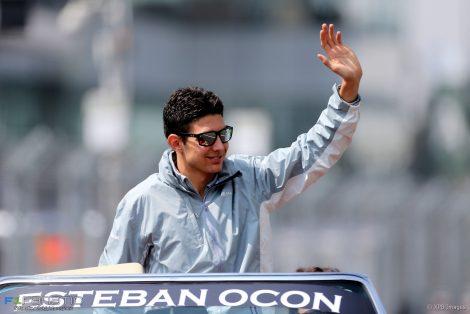 Esteban Ocon, Manor, Autodromo Hermanos Rodriguez, 2016