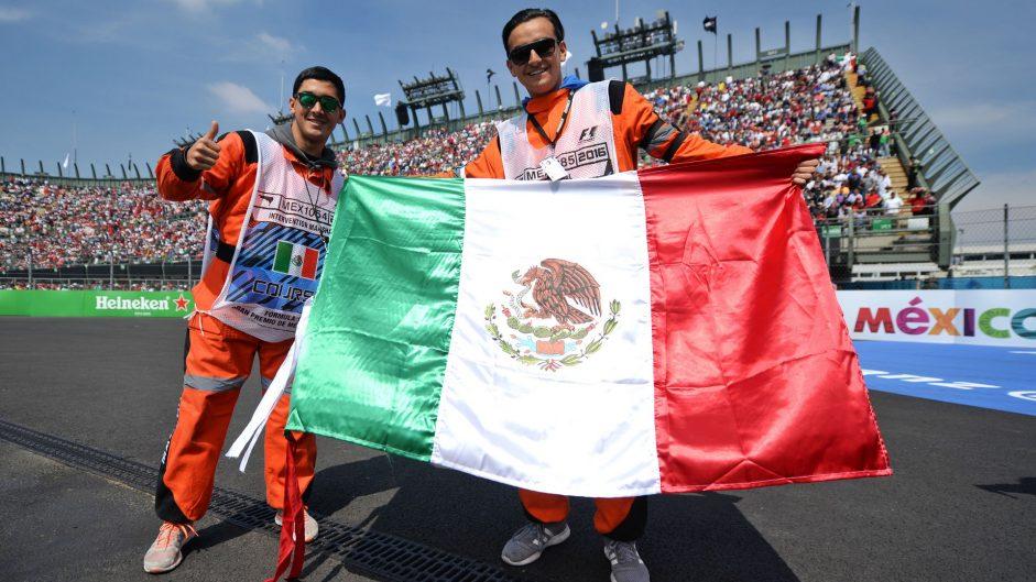 Marshals, Autodromo Hermanos Rodriguez, 2016