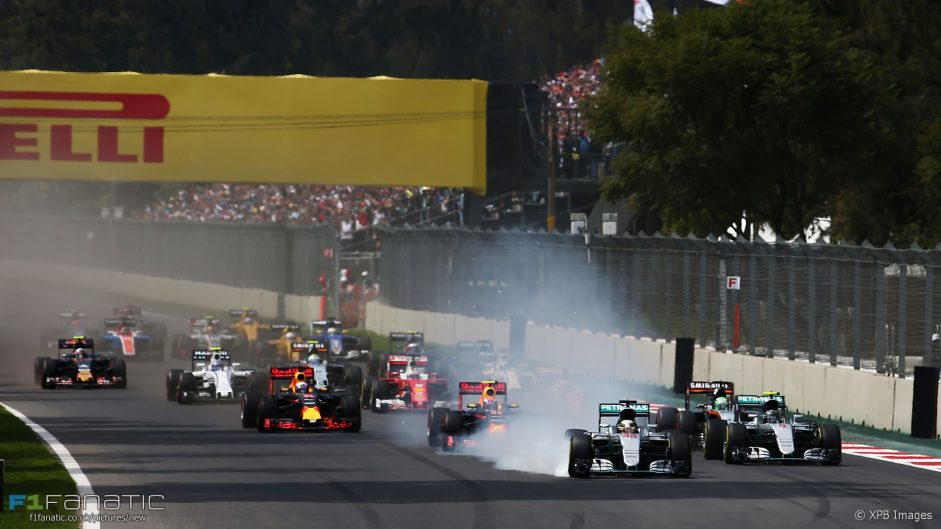 2016 Mexican Grand Prix race result