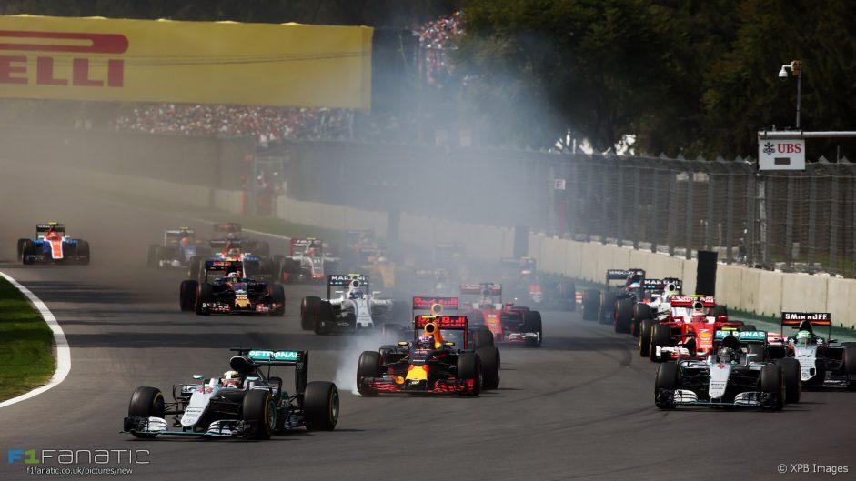 "Hamilton took ""massive advantage"" by cutting turn one – Hulkenberg"
