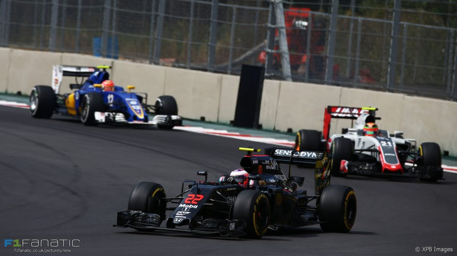 Jenson Button, McLaren, Autodromo Hermanos Rodriguez, 2016