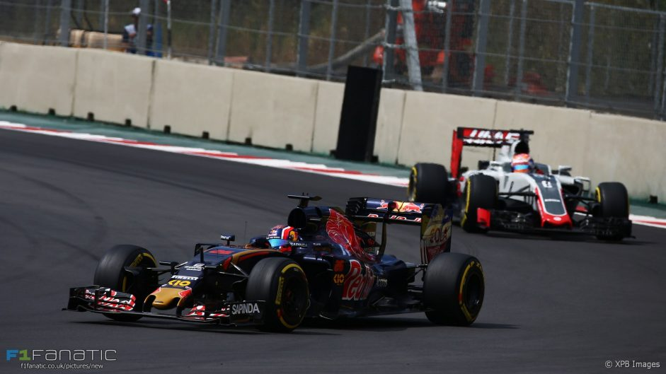 Daniil Kvyat, Toro Rosso, Autodromo Hermanos Rodriguez, 2016