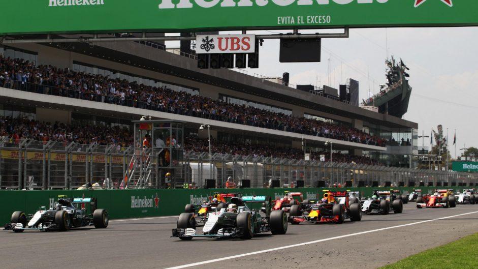 Start Autodromo Hermanos Rodriguez, 2016