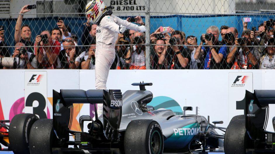 Lewis Hamilton, Mercedes, Autodromo Hermanos Rodriguez, 2016