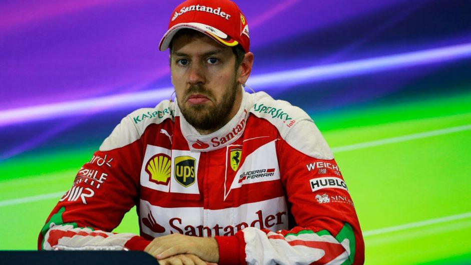 Penalty hands Vettel's third place to Ricciardo