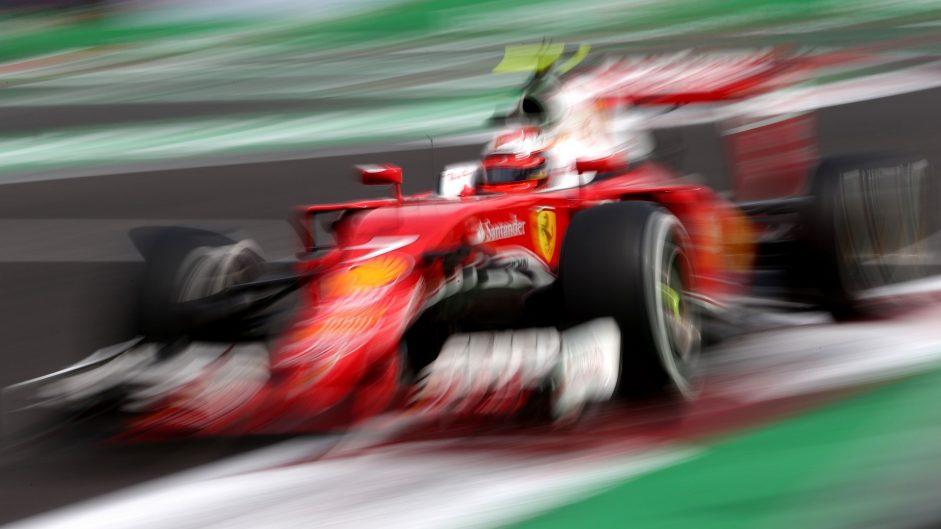 Kimi Raikkonen, Ferrari, Autodromo Hermanos Rodriguez, 2016