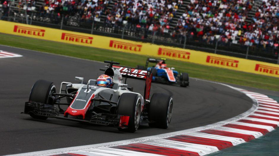 Romain Grosjean, Haas, Autodromo Hermanos Rodriguez, 2016