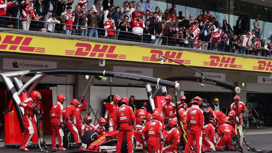 2016 Mexican Grand Prix tyre strategies and pit stops