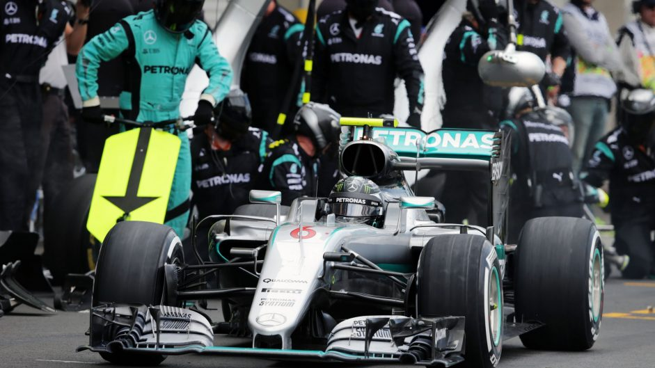 Nico Rosberg, Mercedes, Autodromo Hermanos Rodriguez, 2016