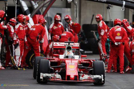 Sebastian Vettel, Ferrari, Autodromo Hermanos Rodriguez, 2016
