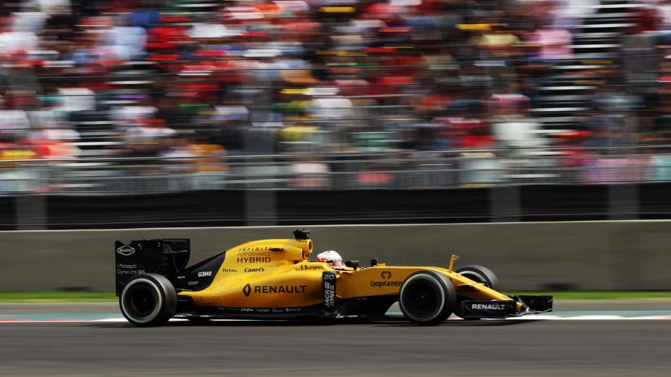 Kevin Magnussen, Renault, Autodromo Hermanos Rodriguez, 2016