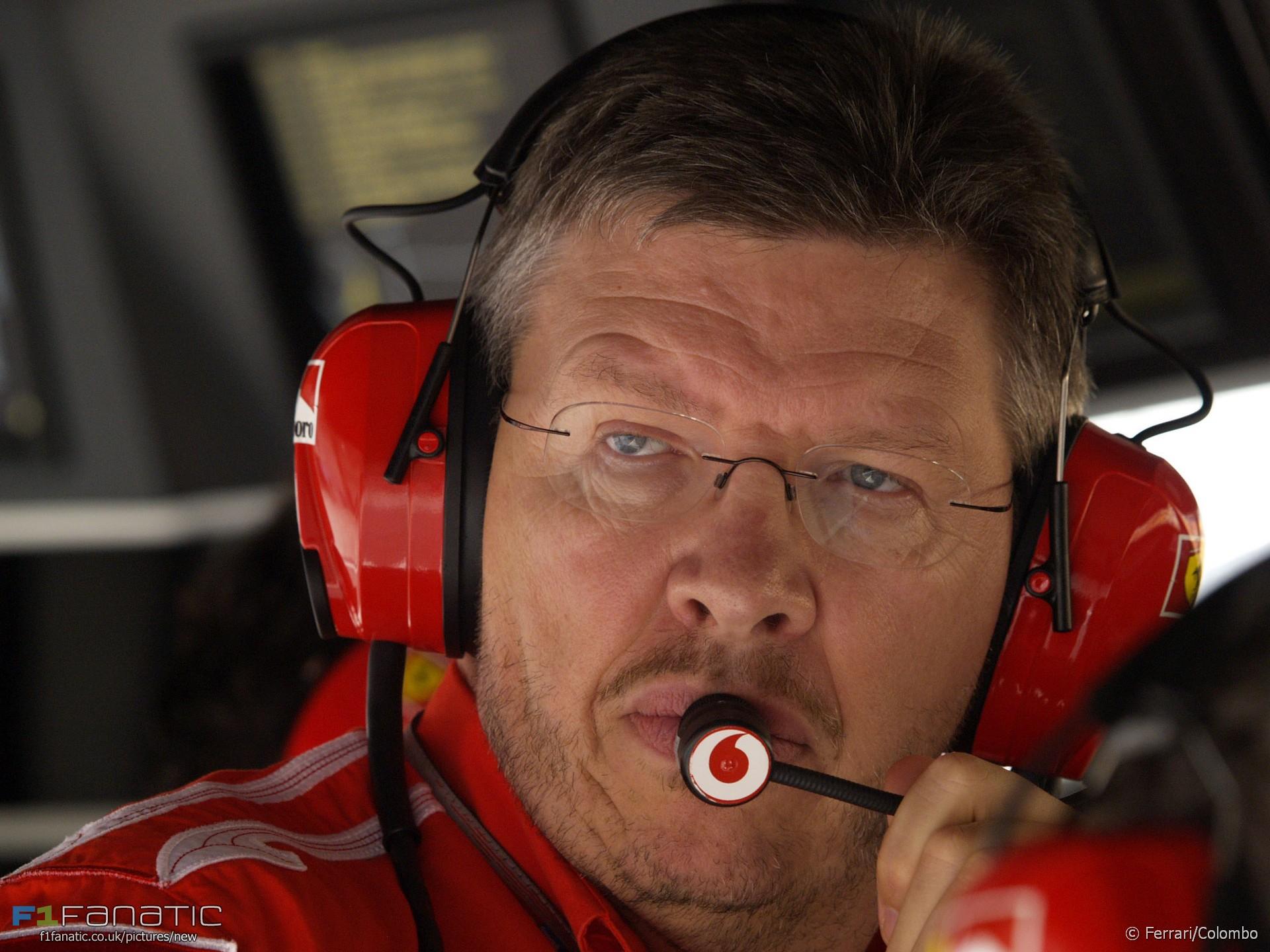 Ross Brawn, Ferrari, 2005
