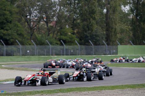Start, European F3, Imola, 2016